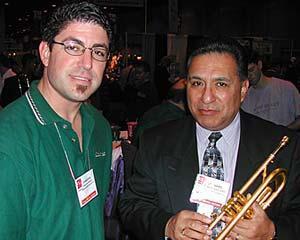 Christan Griego and Leonard Candelaria