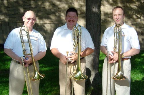 Pictured (left to right): Dick Borden, Chris Sayles, Bob Woodard