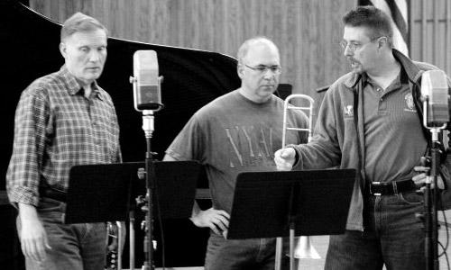 Phil Smith, Joseph Alessi, and Steve Dillon