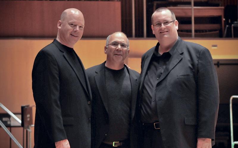 Peter Ellefson, Joseph Alessi, and Jonathan Whitaker