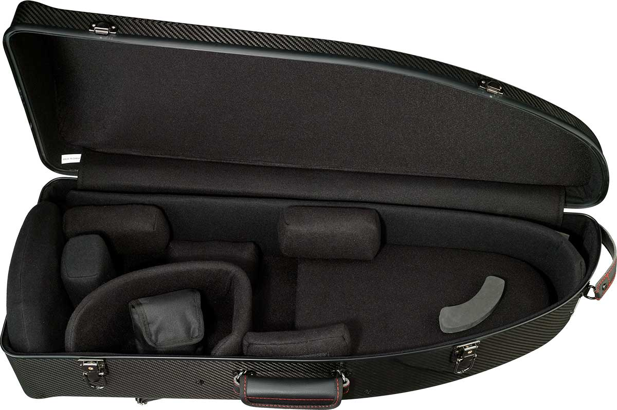 3K Bass Trombone Case Open