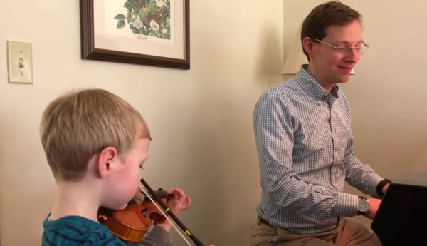 James Markey Featured in the Boston Symphony's BSO at Home Series